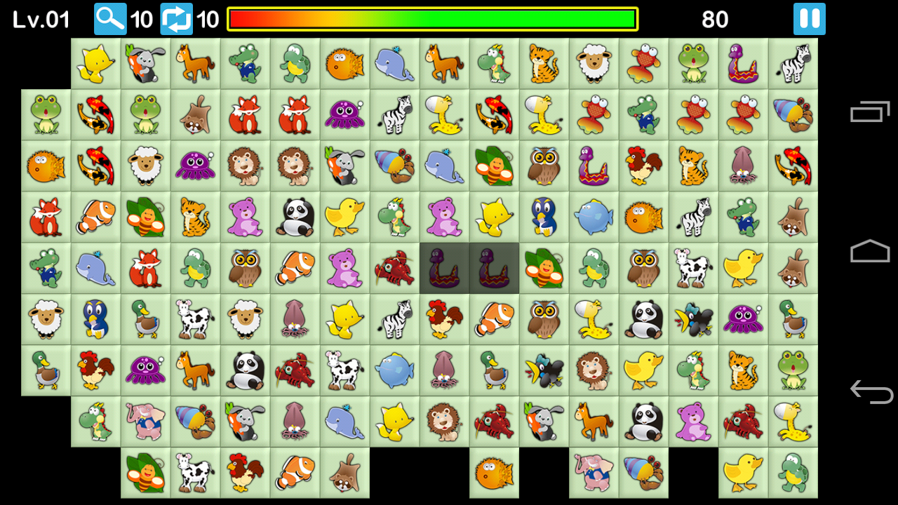 Onet Picachu- screenshot