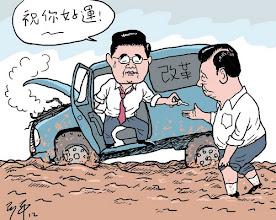 Photo: 阿平漫画-改革