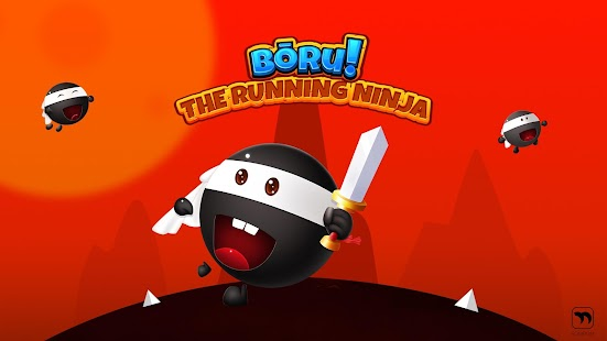 Boru The running Ninja Imagen do Jogo