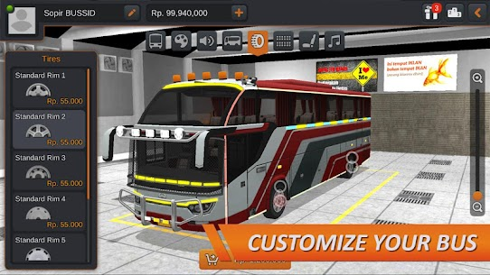 Bus Simulator Indonesia MOD (Unlimited Money) 4