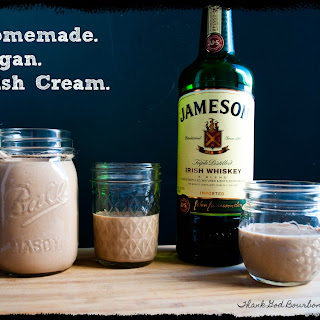 Homemade Vegan Irish Cream.