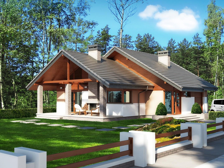 Projekt domu maja tgj 695 for Domus green