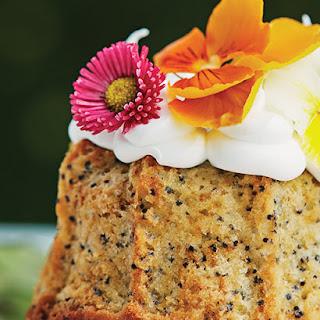 Mini Bundt Cakes with Lemon & Poppy Seeds