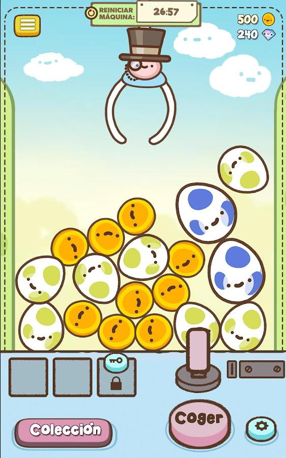 Clawbert: captura de pantalla