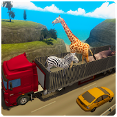 Zoo Animal Transport Truck