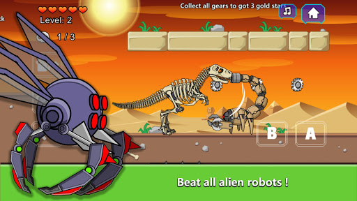 T-Rex Dinosaur Fossils Robot Age  {cheat|hack|gameplay|apk mod|resources generator} 3