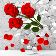 3D Rose Dream Love  Icon