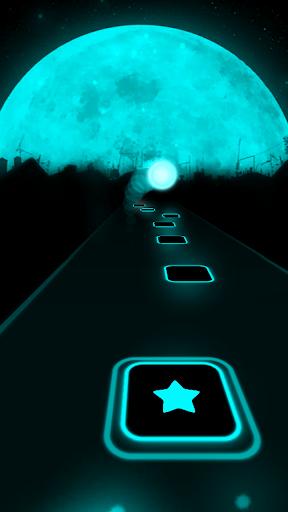 Más cerca: capturas de pantalla de The Chainsmokers Tiles Neon Jump 1