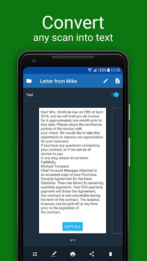 Scanner App for Me: Scan Documents to PDF 1.5 screenshots 3