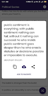 Download Political Quotes and Sayings For PC Windows and Mac apk screenshot 8