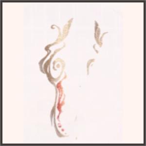煙の如き影
