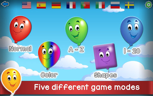 Kids Balloon Pop Game Free ud83cudf88 25.0 screenshots 9