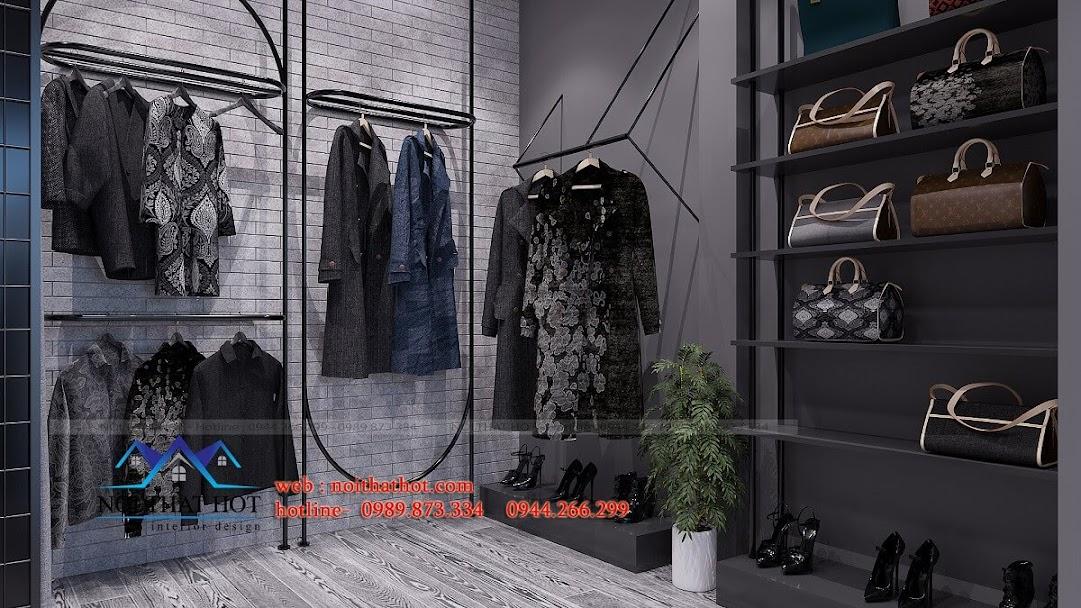 thiết kế shop thời trang nữ cá tính 9