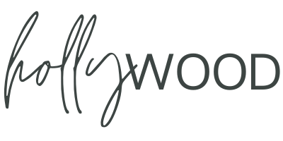 Holly Wood logo black