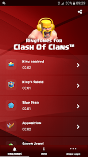 Ringtones for Clash of Clans™