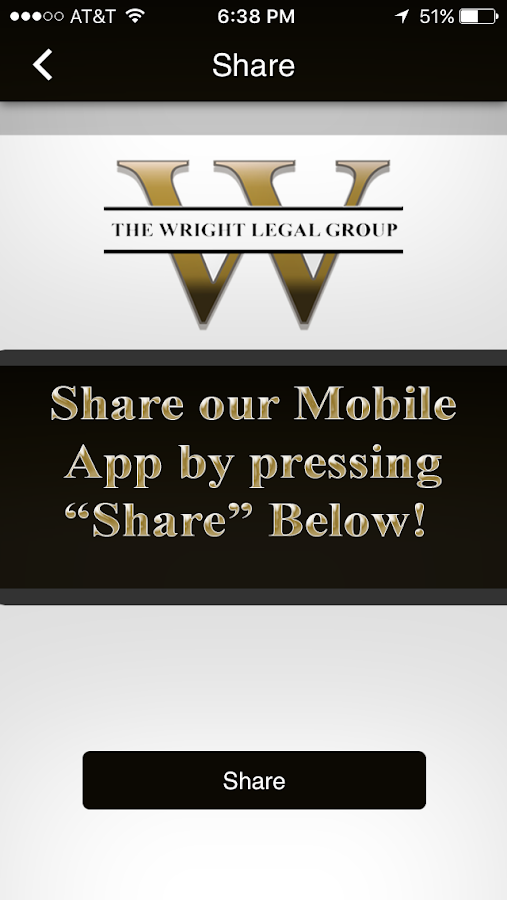 Wright Legal Group- screenshot