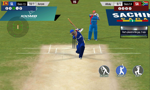 Sachin Saga Cricket Game 1.2.26 screenshots 4