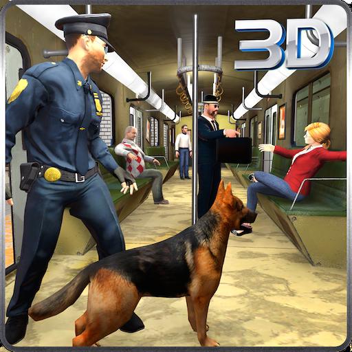 警察犬:市営地下鉄犯罪 模擬 App LOGO-APP試玩