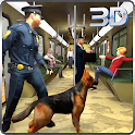 Police Dog : City Subway Crime icon