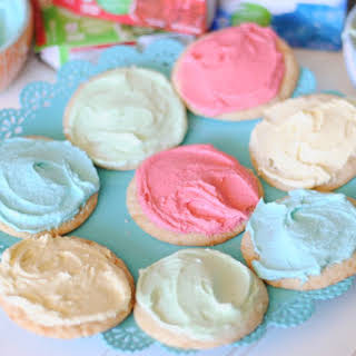 Jello Frosted Cookies.
