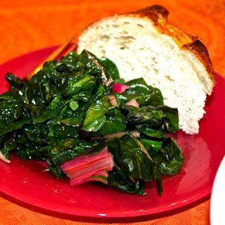 Buttery Sautéed Greens