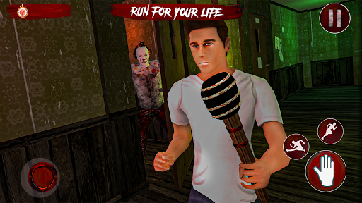 Pennywise killer clown Horror games 2020  screenshots 7