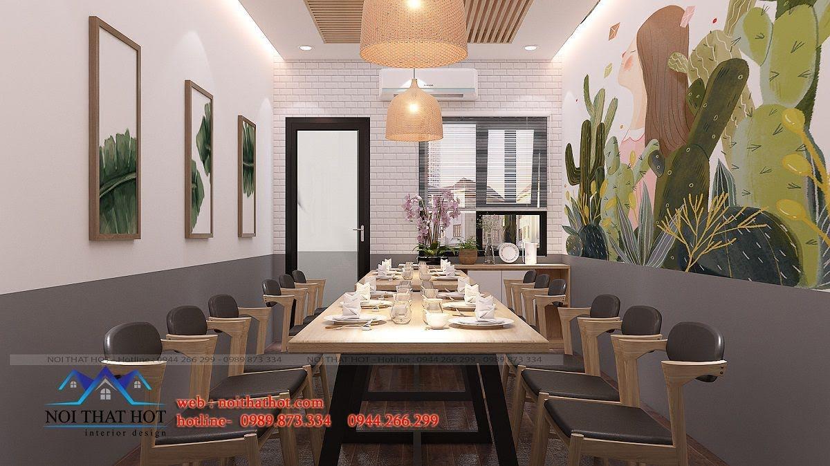 thiết kế nhà hàng trường giang 33