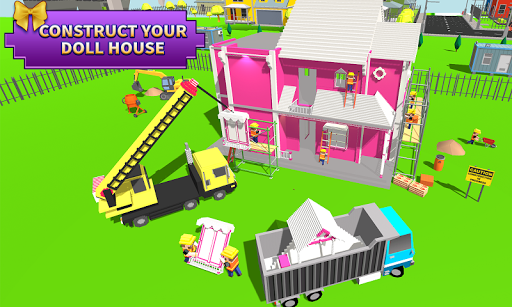 Doll House Design & Decoration : Girls House Games ss3