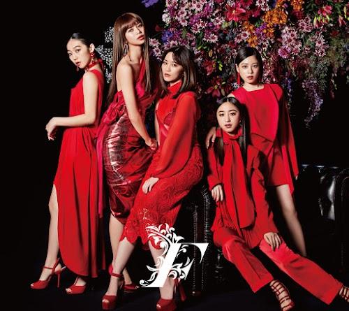 "Capa do álbum ""F"" – Limited Edition A & B."