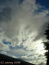 Photo: Oh the most gorgeous clouds on this day. I am so grateful to notice them and see them.