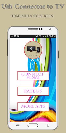 Phone Connect to tv-(usb/hdmi/mhl/otg connector) screenshot 3