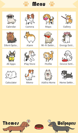 Cute Wallpaper I Love DOGS Theme 1.0.0 Windows u7528 2