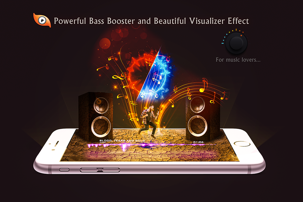 S Music Player 3D: captura de pantalla