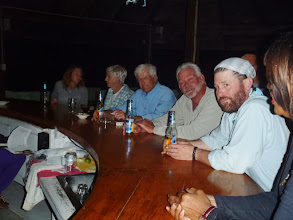 Photo: Many solid friendships have been formed right here at this bar- Andros Island Bonefish Club