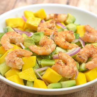 Grilled Shrimp Mango Avocado Salad Recipe
