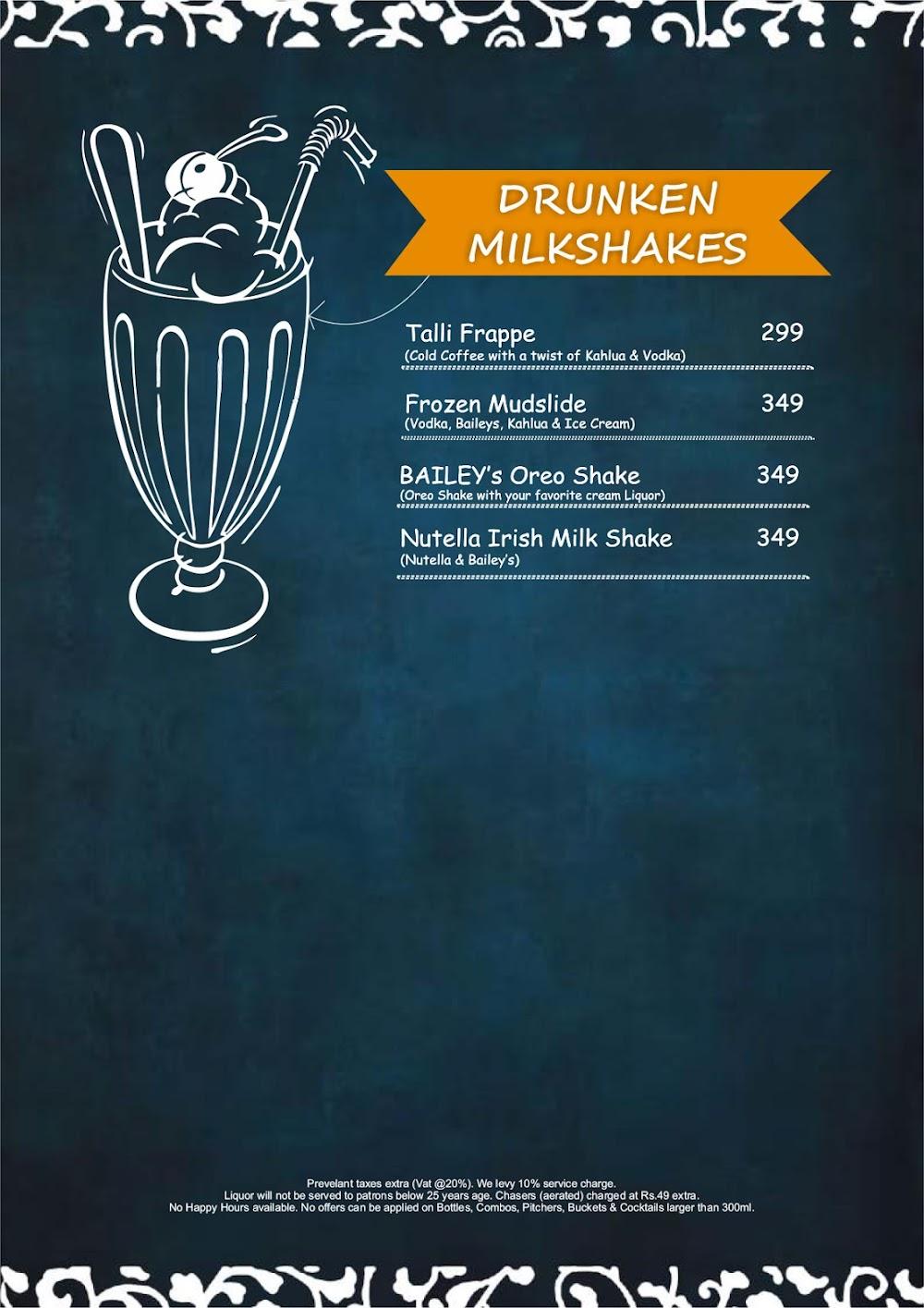 Chill'm Bar & Cafe menu 11