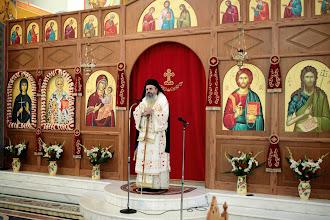 Photo: Проповед на Гардикийския еп. Климент по време на причастяването на духовенството.
