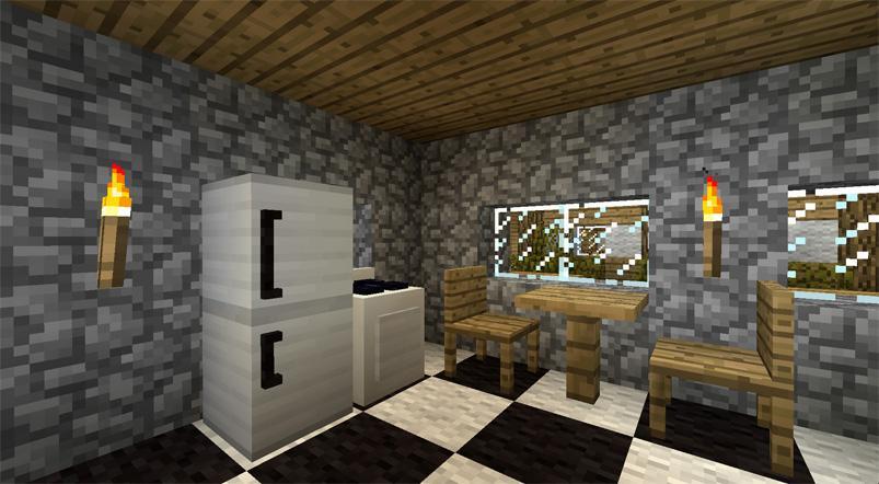 Furniture MOD For Minecraft PE Screenshot
