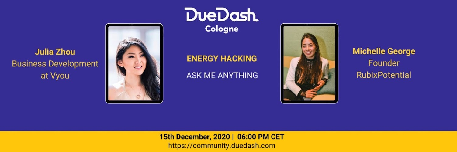 DueDash Cologne AMA: Energy Hacking