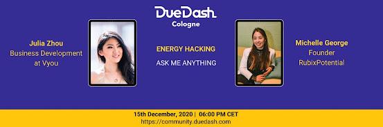 DueDash Cologne AMA: Energy Hacking