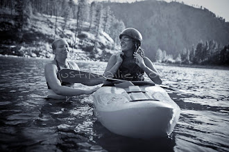Photo: Kayak instructor and student. Salmon River, Idaho.