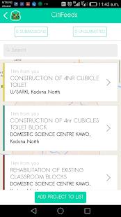 Kaduna Citizen Feedback - náhled