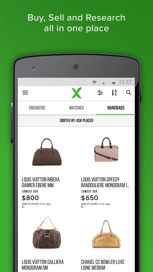 StockX: Stock Market of Things- screenshot
