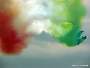 Photo: Italian Frecce Tricolori