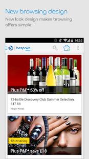 Bespoke Offers- screenshot thumbnail
