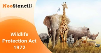 Wildlife Protection Act -1972