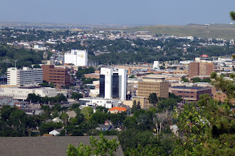 Photo: Downtown skyline. The primary industries are tourism in the Black Hills and Ellsworth Air Force Base, with lots of B-1B bombers.