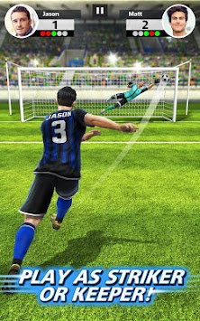 Fotbal Strike - Multiplayer Soccer APK screenshot thumbnail 2