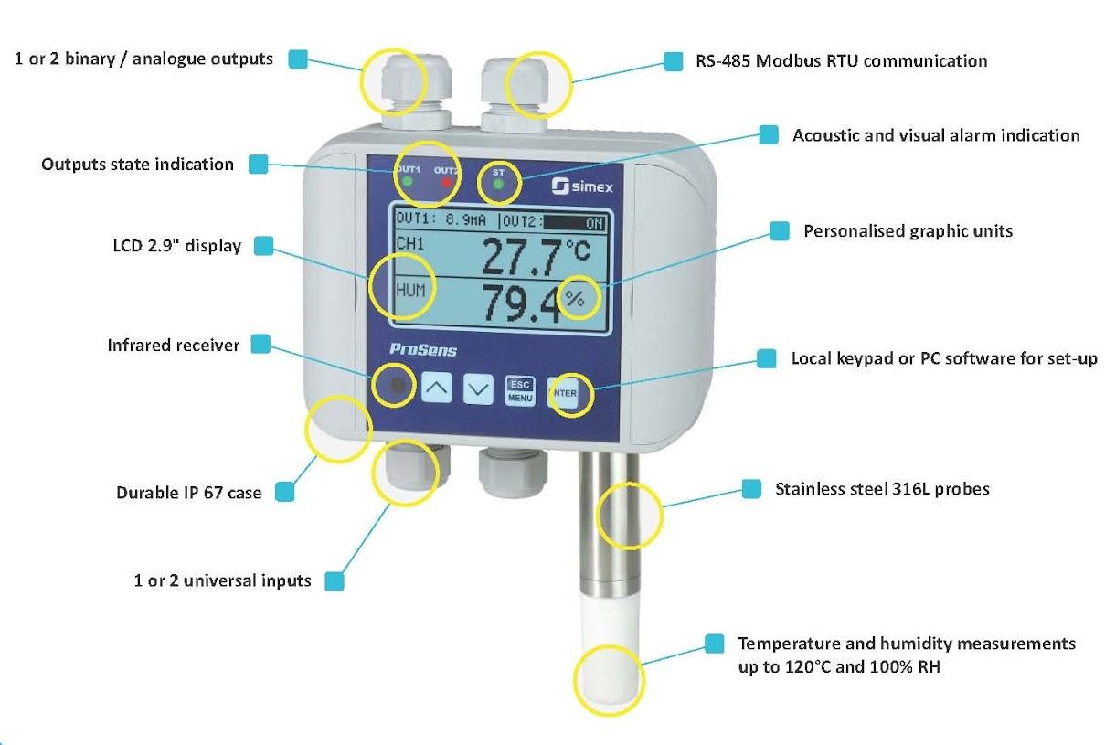溫濕度傳感器(探頭耐高溫型) - SmartMeter(斯馬特購物)