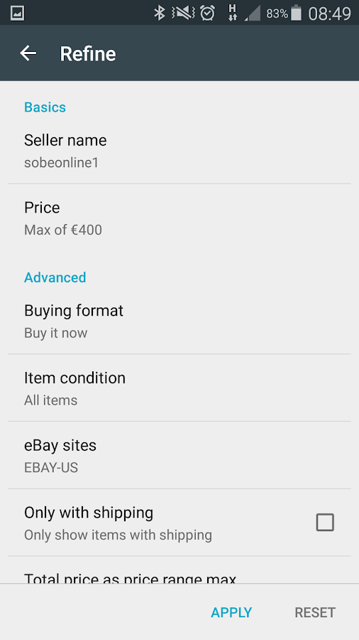 Geoship - Search for eBay- screenshot